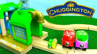 Download Chuggington Trains Wooden Chug Wash for Wooden Railway Tracks with Surprise Eggs Video