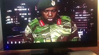 Download Zimbabwe Soldiers read address on state TV Video
