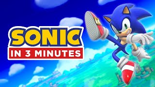 Download Entire Sonic Story in 3 Minutes (Sonic Animation) Video