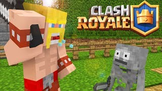 Download Steve VS Herobrine : Fighting Clash Royale - Minecraft animation Video