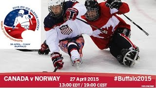 Download Canada v Norway | Prelim | 2015 IPC Ice Sledge Hockey World Championships A-Pool, Buffalo Video