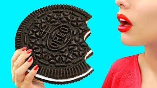 Download 9 DIY Giant Candy vs Miniature Candy / Funny Pranks! Video