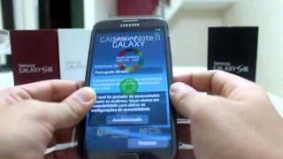 Download Unboxing Brasileiro Galaxy Note II n7100 Video