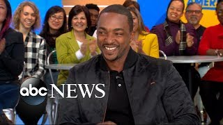 Download Anthony Mackie opens up about 'Avengers: Infinity War' Video