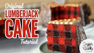 Download Free lumberjack cake tutorial from Sugar Geek Show Video