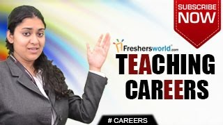 Download CAREERS IN TEACHING – NET,B.Ed,M.Ed,PhD,Training,Recruitment,Salary package Video
