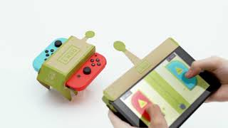 Download Nintendo Labo First Trailer - Cardboard Toy-Cons For Nintendo Switch Video