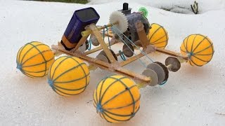 Download How to Make a Car - Lunar Rover - incredible Toy - Tutorial Video