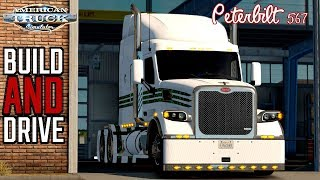 Download FTG BUILD AND DRIVE | PETERBILT 567 WITH CUSTOM SOUNDS !! | AMERICAN TRUCK SIMULATOR Video