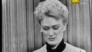 Download Eve Arden on What's My Line? Video