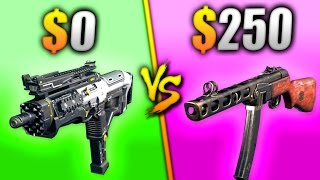 Download $0 vs $250 GUN - WHICH IS BETTER? Video
