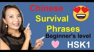 Download Chinese Survival Phrases! (HSK1 Phrases | SMART Mandarin) Video