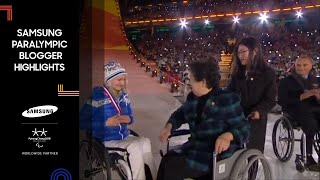 Download Samsung Paralympic Bloggers Wave Goodbye to PyeongChang Video