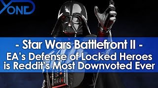 Download EA's Defense of Battlefront 2's Locked Heroes Became Reddit's Most Downvoted Comment Ever Video