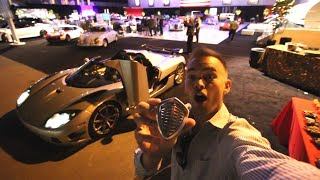 Download Taking Floyd Mayweather's Koenigsegg Trevita to the FANCIEST PARTY of my life Video