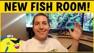 Download NEW FISH ROOM! AQUARIUM LAB 2.0 Video