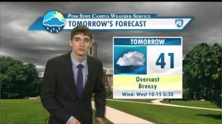 Download Andy Moffitt's Friday Evening Forecast (12-2-16) Video
