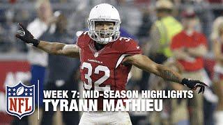 Download Tyrann ″Honey Badger″ Mathieu Mid-Season Highlights | NFL 2015 Season Video