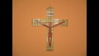 Download ¿ Cómo hacer una cruz con ganchos o pinza de madera ? Video