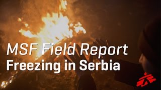 Download Refugees Struggle with Biting Cold, Lack of Facilities in Serbia Video