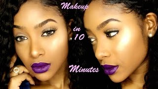 Download Easy Drugstore Makeup in 10 Minutes | PETITE-SUE DIVINITII Video