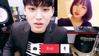 Download SEVENTEEN's Mingyu and GFRIEND's Eunha Video Call | EunGyu Video