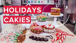 Download How to make Holiday Cookie Sandwiches with Chocolate Chip Cookies, Cake and Buttercream! Video