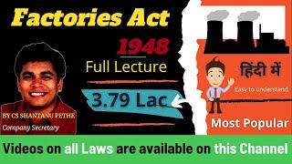 Download Factories Act 1948 Video