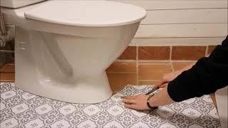Download Golvvinyl vid toalett Video
