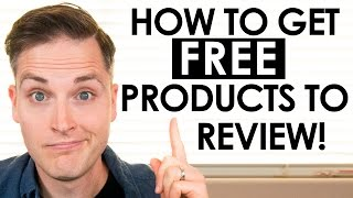 Download How to Get FREE Stuff to Review on YouTube Video