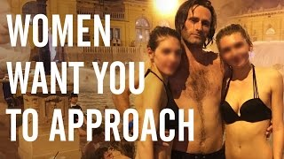 Download Why women want YOU to approach them - James Marshall reveals truth on love and relationships Video