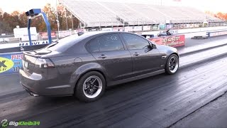 Download Twin Turbo Pontiac G8 is a fast moving Family Hauler! Video