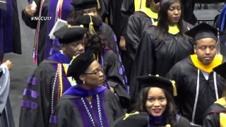 Download North Carolina Central University 2017 Graduate and Professional Commencement Video