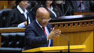 Download [MUST WATCH] President Zuma jokes about Nkandla in Parliament Video
