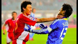 Download 日本サッカー史上最高に荒れた試合 カンフー中国vs日本代表 ●乱闘 【ハイライト】 Video