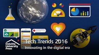 Download Tech Trends 2016: Innovating in the digital era | Deloitte Insights Video