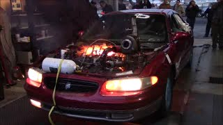 Download Turbo, Supercharged, and Nitrous Buick Regal Destruction! - Sloppy Mechanics Fall Dyno Day 2015 Video
