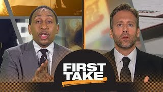 Download Stephen A., Max debate if Durant, Klay or Draymond will leave Warriors first | First Take | ESPN Video