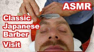 Download Classic 床屋さん Japanese Barbershop - Cut & Shave [ASMR] - Handheld DSLR Video