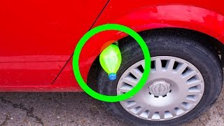 Download If You See a Bottle on Your Tire, Don't Touch It And Call the Police! Video