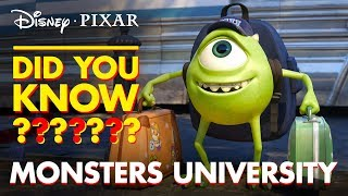 Download Pixar Did You Know? Fun Facts About Monsters University Video