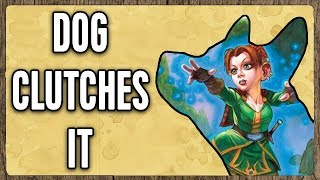 Download Dog Barely Wins as Quest Mage [Hearthstone] Video