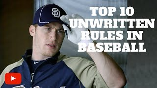 Download Top 10 Unwritten Rules in Baseball Video
