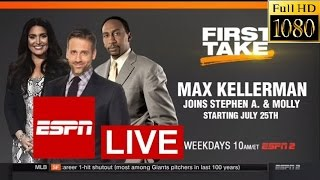 Download ESPN First Take Today 12/5/2016 LIVE - NFL Week 13 - ESPN First Take Today December 5, 2016 LIVE Video
