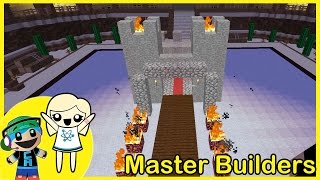 Download Master Builders Building Mini Game with Cybernova - MEH CASTLE - Minecraft Video