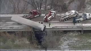 Download Winter Truck Crashes BE SAFE THIS WINTER Video