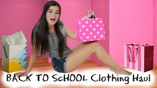 Download Back to School Clothing Haul 2014 + Giveaway! Video