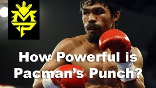 Download Manny Pacqiuao's Punching Power Measured Video