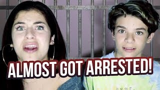 Download WE ALMOST GOT ARRESTED?!?!?! Video