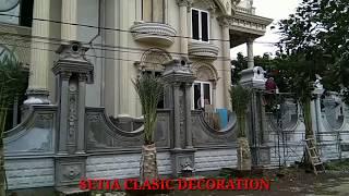 Download ISTIMEWA !!! Desain Pilar Dan Pagar Rumah Klasik Video